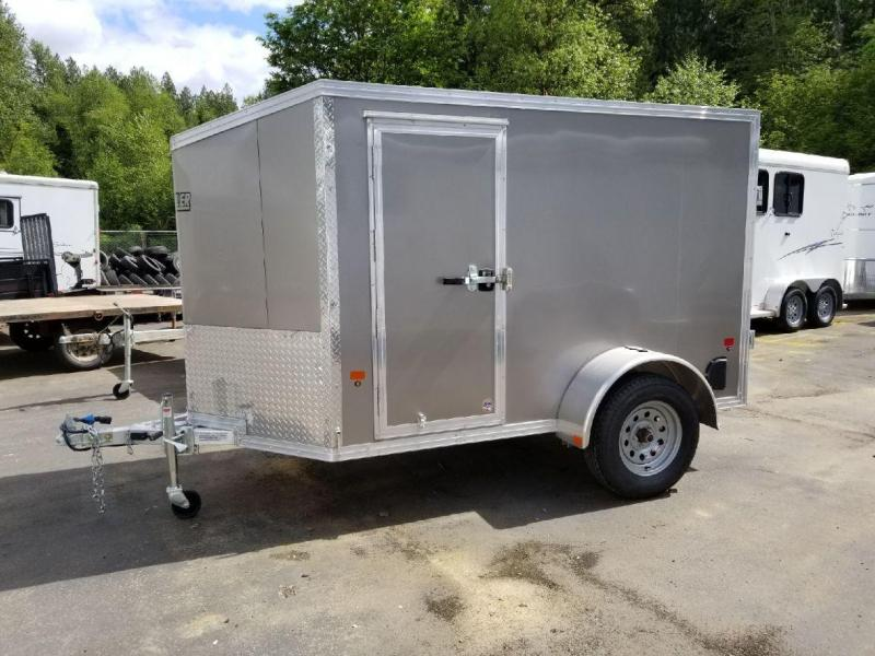 Custom 2018 EZ Hauler 5x8 All-Aluminum Enclosed Cargo Trailer w/Barn Doors