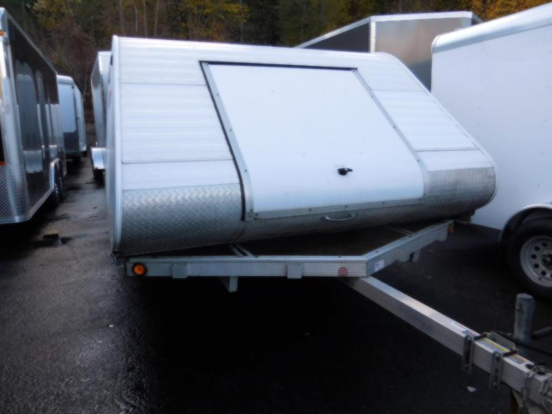 2007 Triton Trailers 2 Place Snowmobile Trailer