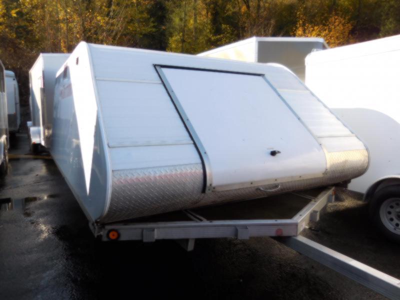 Used 2007 Triton 2 Place Elite Enclosed Snowmobile Trailer