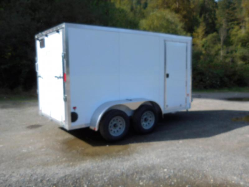 2019 EZ Hauler 6x12 All-Aluminum TA 7k Enclosed Cargo Trailer