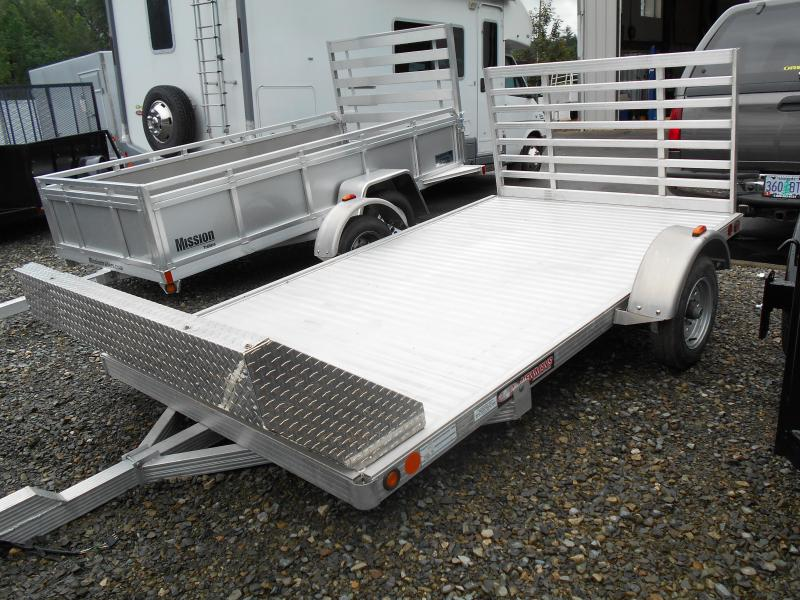 2008 Newman 6x10 Motorcycle Trailer