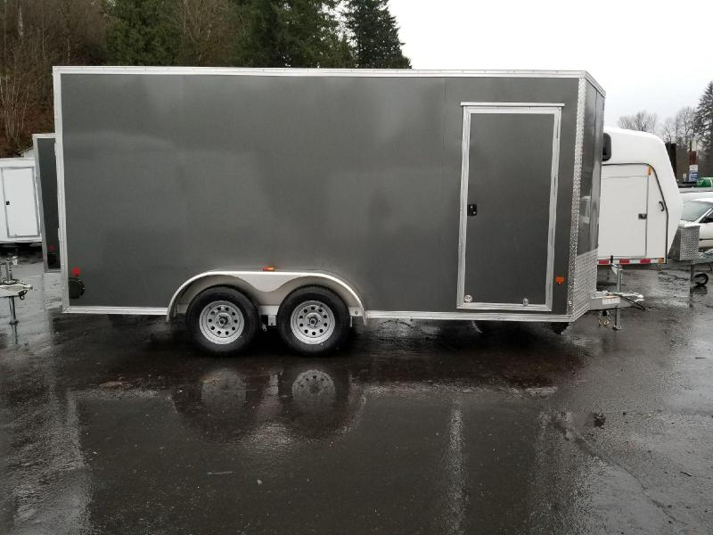 2018 EZ Hauler 7x16 All Aluminum Enclosed Cargo Trailer