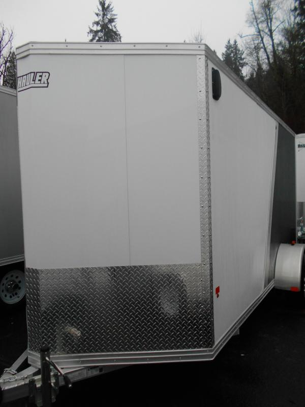 2015 Mission 6x12 Duralite All Aluminum Cargo / Enclosed Trailer