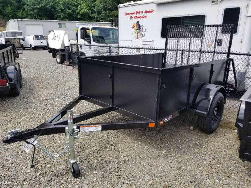2018 Iron Eagle 5x8 Voyager Series Utility Landscape Trailer - 4ft Ramp