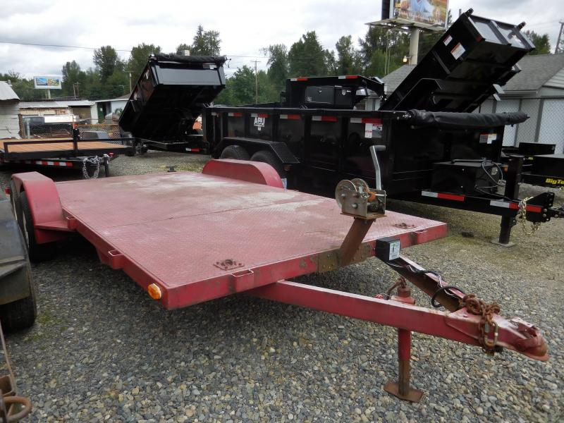 Used 1998 18' Flatbed Trailer