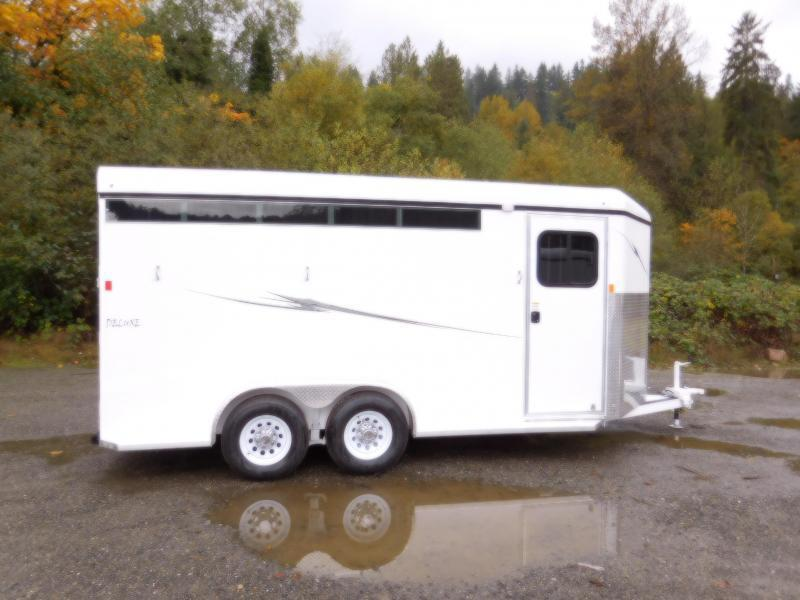 2017 Fabform 3 Horse Vision Deluxe Trailer