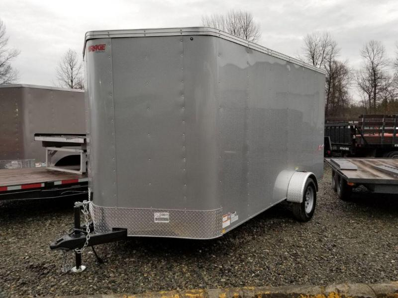 2019 Mirage Xpres 7x12 Enclosed Cargo Trailer
