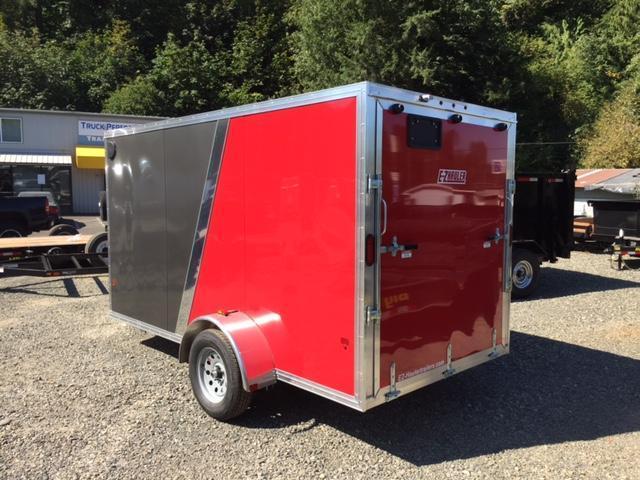 2017 Mission 6x12 All Aluminum Cargo / Enclosed Trailer