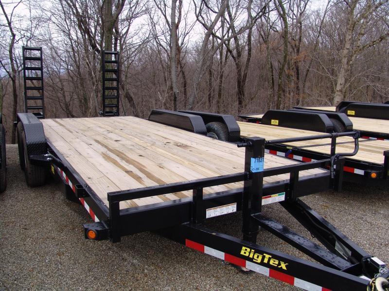 2015 Big Tex Trailers 18' 14ET Equipment Trailers