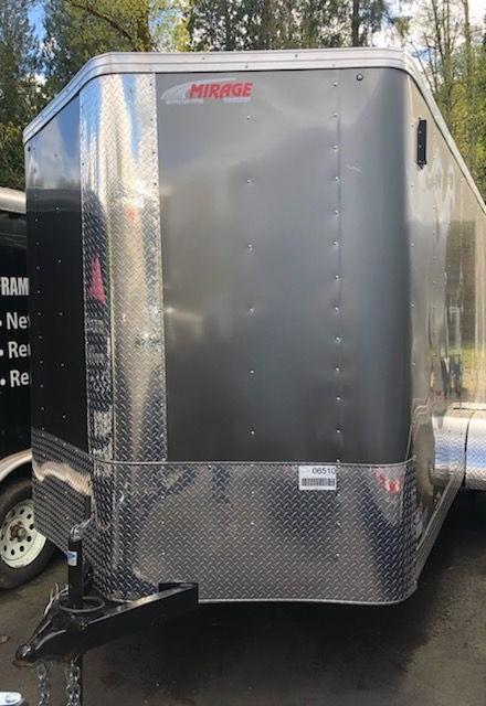 2019 Mirage 7x16 Xpres Ramp Door Enclosed Cargo Trailer