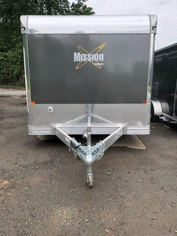 2019 Mission 8.5x22 Pinnacle Series Enclosed Car Hauler