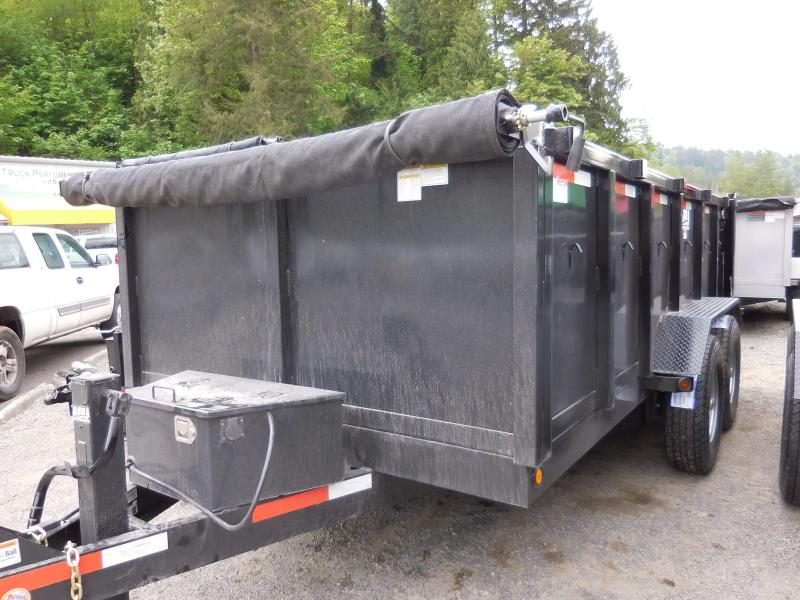 2016 ABU 7x14 Dump Trailer with 3' sides