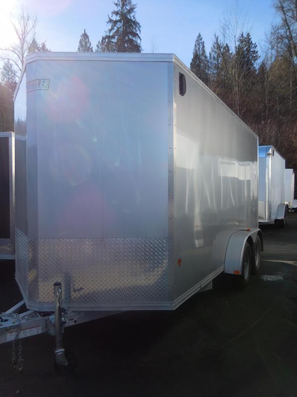 2016 Mission 7x14 Cargo / Enclosed Trailer