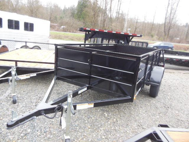 20146x10 iron Eagle Magnum Utility Trailer with Landscape Ramp