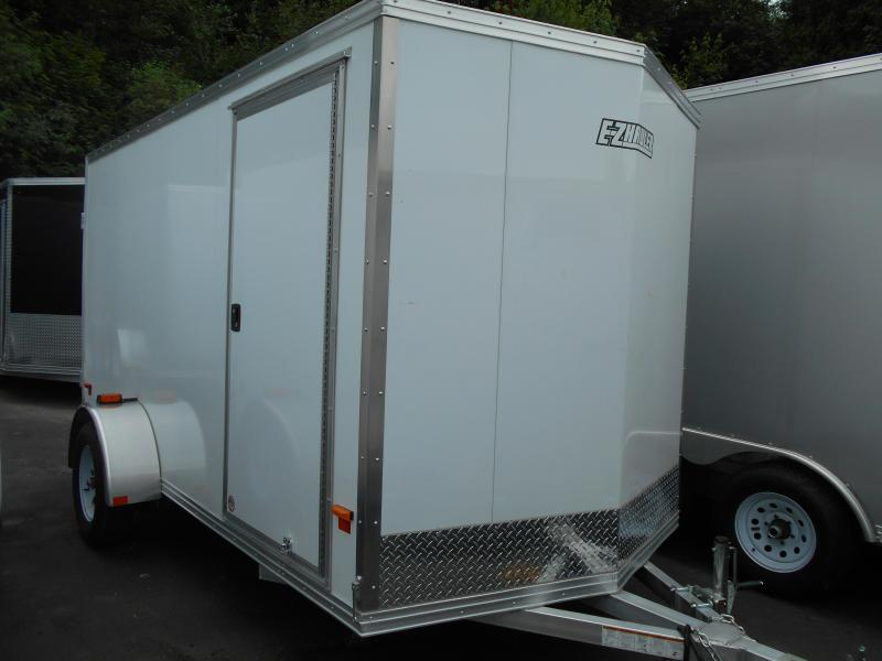 2014 Mission 6x12 Duralite All Aluminum Cargo / Enclosed Trailer