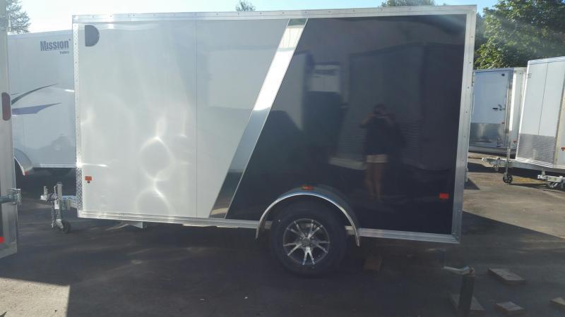 2015 Mission 6x12 Standard All Aluminum Cargo / Enclosed Trailer
