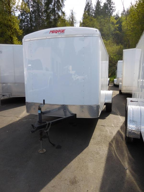 2018 Mirage Trailers 6X12 XPO Enclosed Cargo Trailer