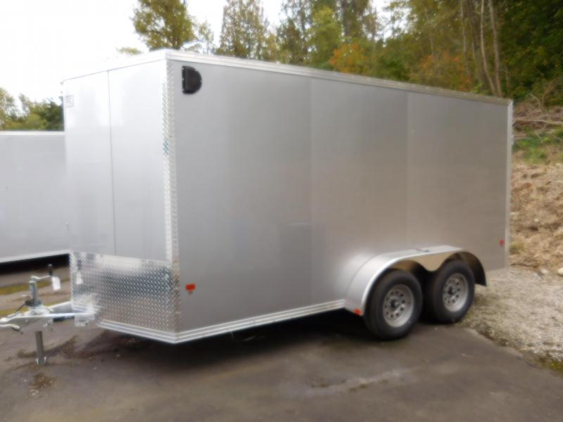2019 EZ Hauler 7x14 All-Aluminum Enclosed Cargo Trailer w/Lighting Pkg!