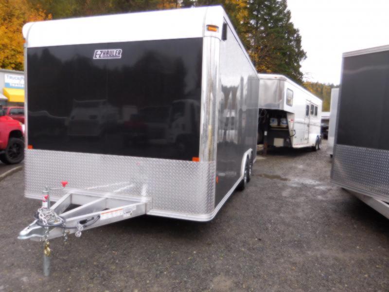 2018 Mission EZEC 8x18 Car Hauler Enclosed Cargo Trailer