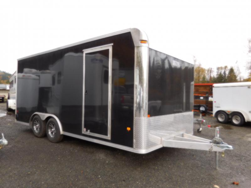 2018 EZ Hauler 8x18 Car Hauler Enclosed Cargo Trailer