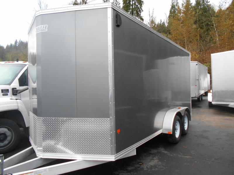 2015 Mission 7x16 duralite Cargo / Enclosed Trailer