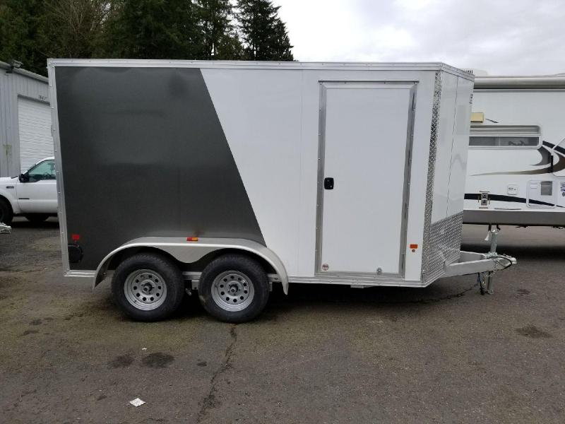 2018 EZ Hauler 6X12 Tandem Axle Enclosed Cargo Trailer