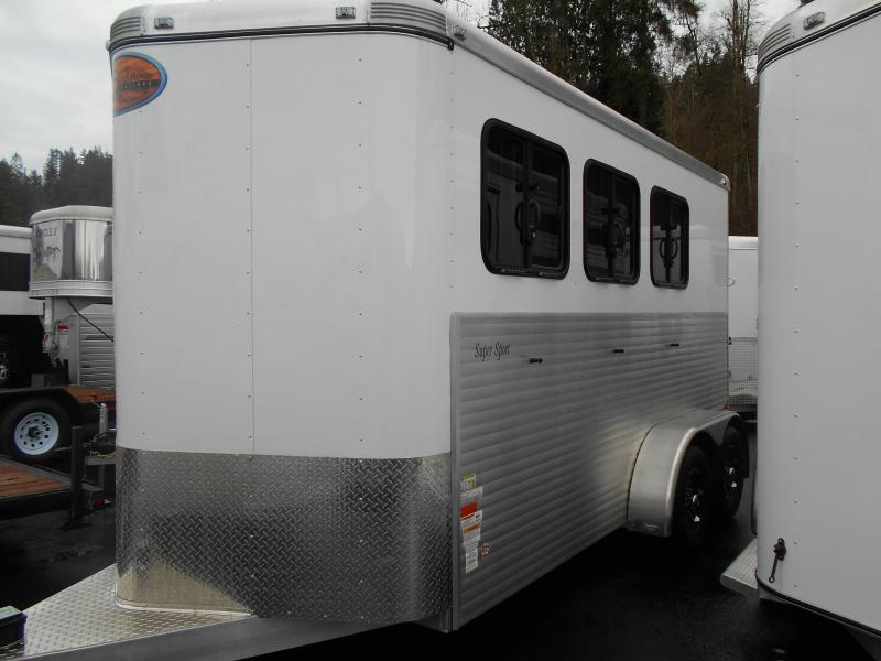 2015 Sundowner 3H Super Sport Horse Trailer
