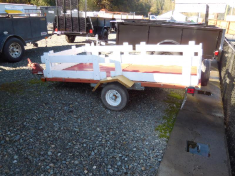 1991 Nuway Homemade Utility Trailer