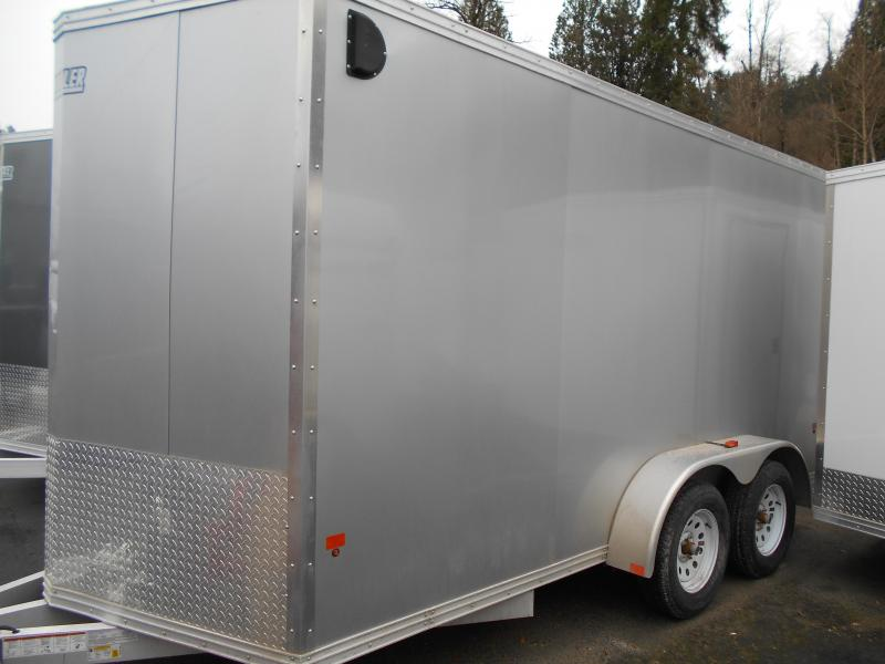 2015 Mission 7x12 Duralite All Aluminum Cargo / Enclosed Trailer