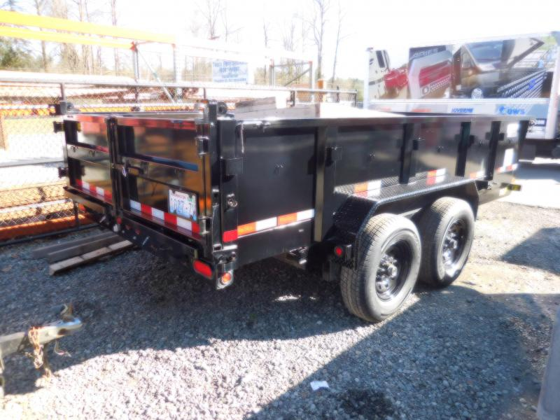 Used 2017 Big Tex Trailers 7x14 14K Dump Trailer
