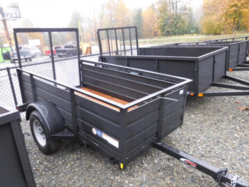 2017 Mirage 4x8 Utility Trailer with Rear Landscape Ramp