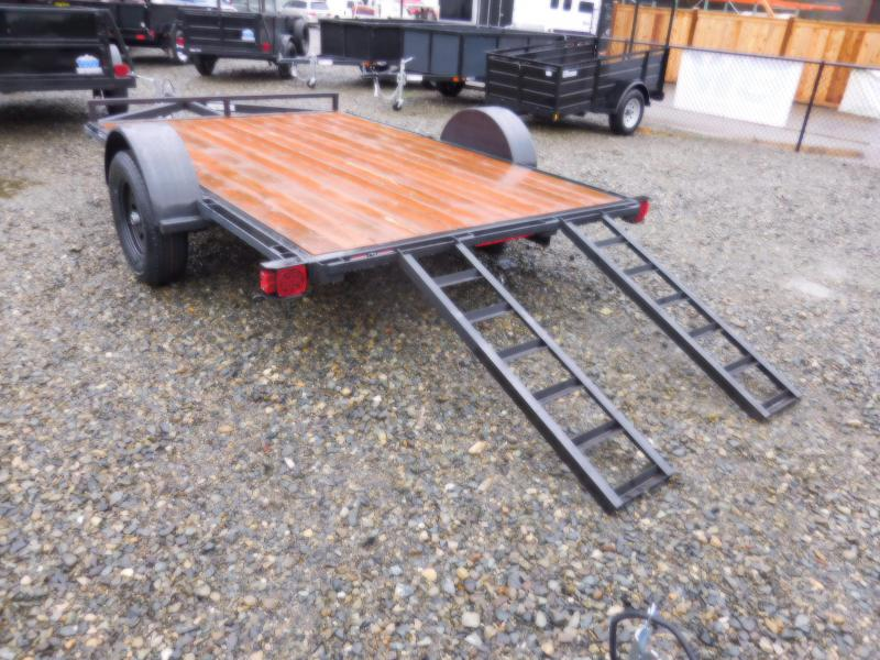 2018 Iron Eagle 6.5x10 ATV Series Flatbed Trailer with 4' Ramps