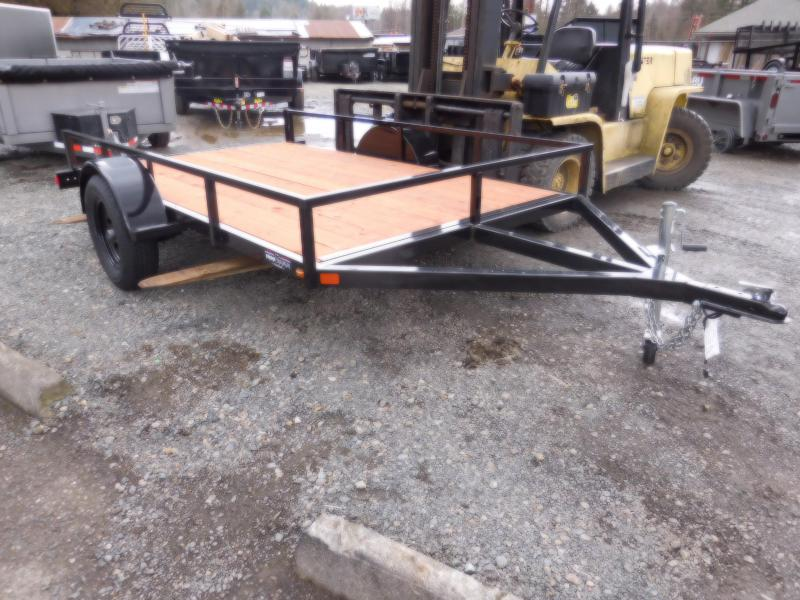 2018 Iron Eagle Economax Series 6x10 Flatbed Trailer