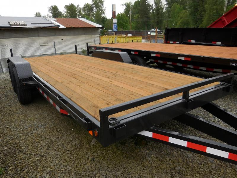 2017 Iron Eagle 7x20 14k Flat Bed Trailer