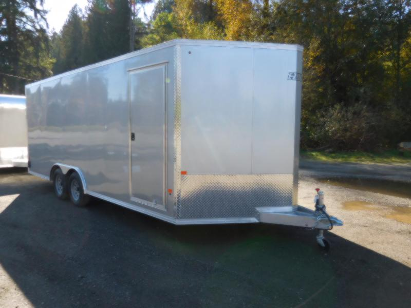 2019 EZ Hauler 8x20 V-Nose All-Aluminum Enclosed Car Hauler Cargo Trailer