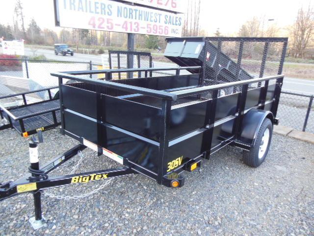 2015 Big Tex Trailers 5x10 30 SV Utility Trailer