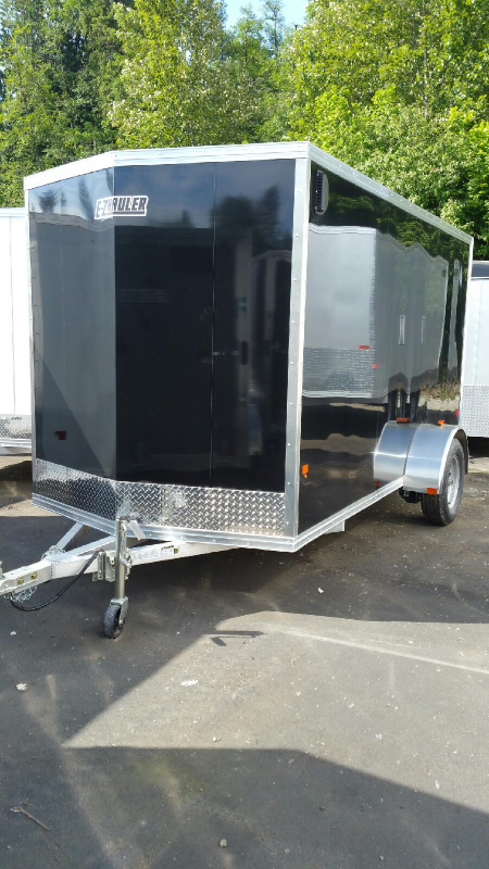 2015 Mission Duralite 6x12 Enclosed Cargo Trailer