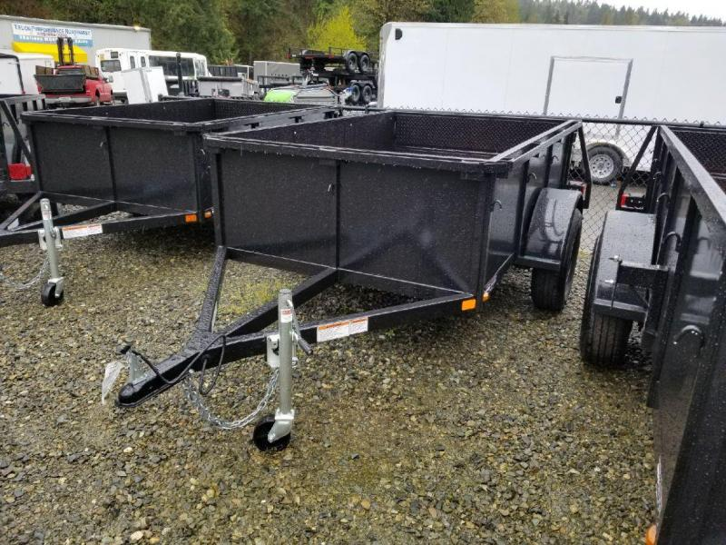 2018 Iron Eagle Voyager Series 5x8 Utility Trailer - Split Gate & Stake Pockets