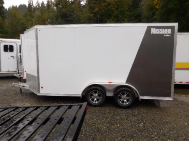 2018 Mission MEC 7.5x14 Enclosed Cargo Trailer