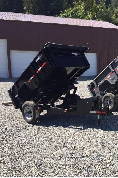 2019 ABU 5x8 Scissor Lift Dump Trailer
