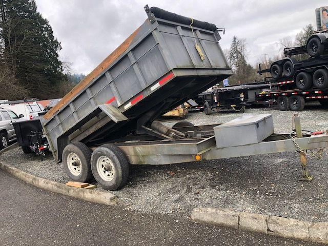 2002 Logan Coach 7x12 Dump Trailer