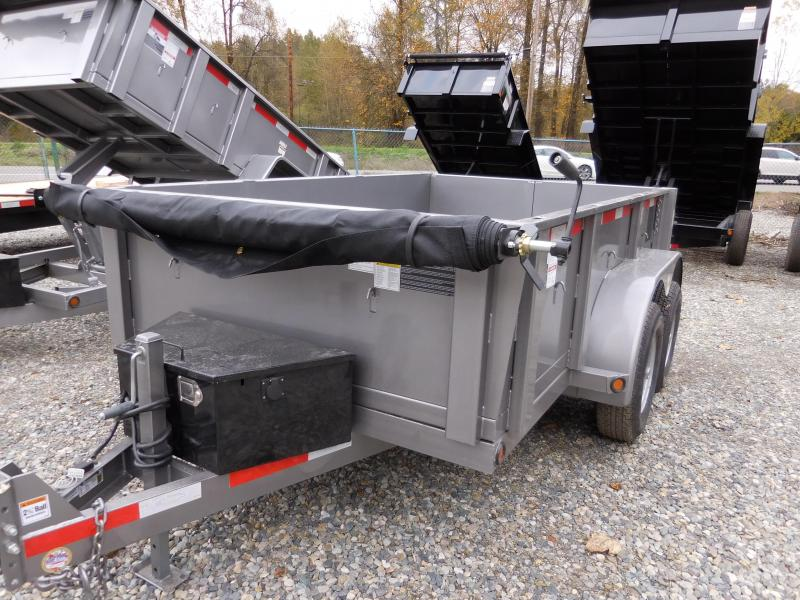 2018 ABU 6x10 Dump Trailer 10K w/ Double Rear Doors