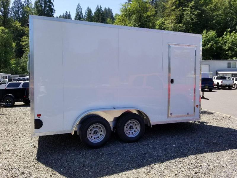 2018 EZ Hauler 7.5x14 All-Aluminum Enclosed Cargo Trailer