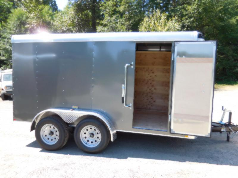 2018 Mirage 6x12 XPO Tandem Axle Enclosed Cargo Trailer