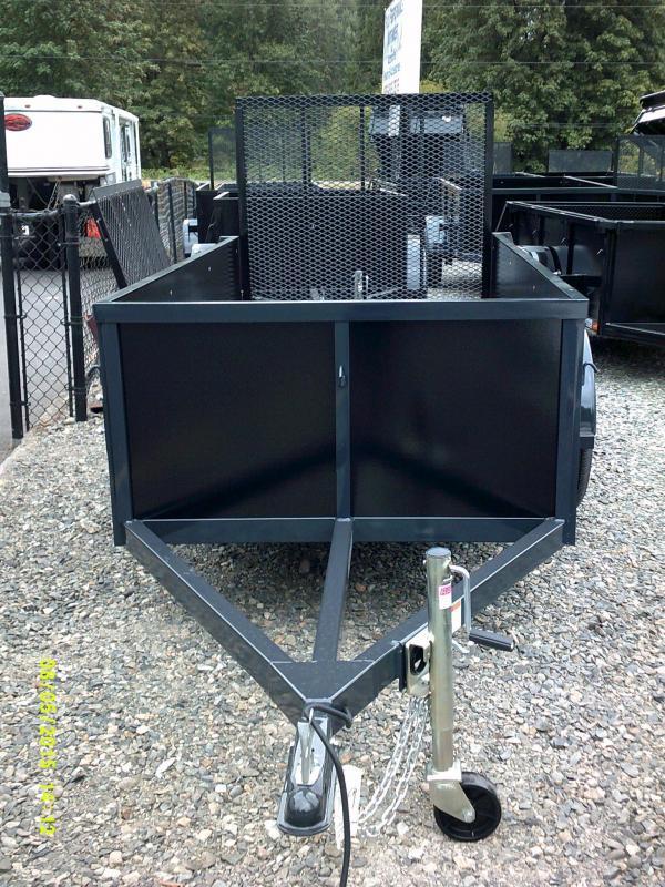 2015 Iron Eagle Voyager 4x8 landscape ramp Utility Trailer