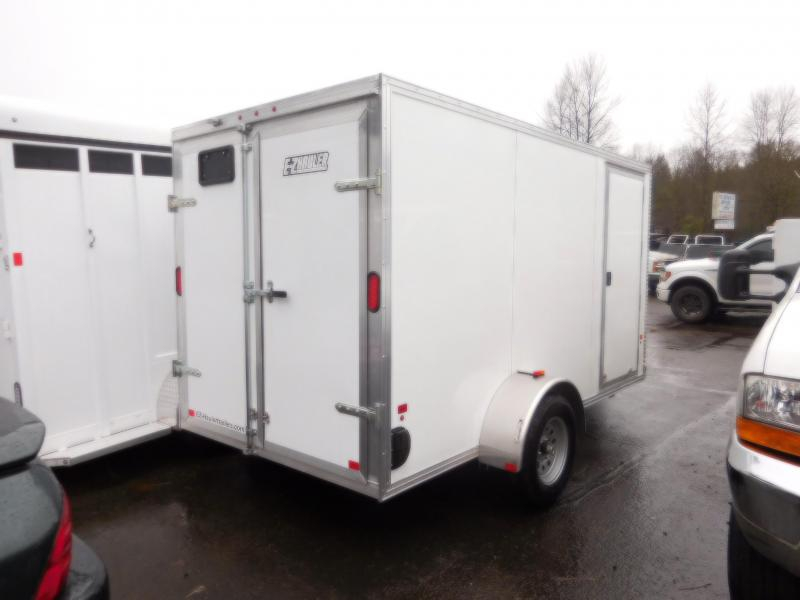 2018 EZ Hauler 6x12 Enclosed Cargo Trailer with Barn Doors