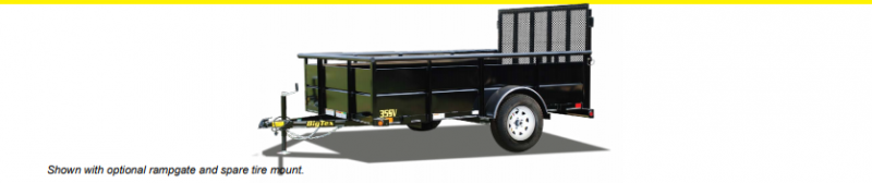 2019 Big Tex 30SV 5x8 Utility Trailer
