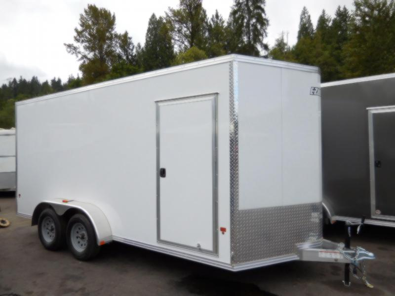 2017 EZ Hauler EZEC 7x16 Cargo / Enclosed Trailer
