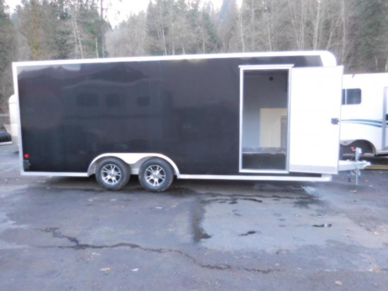 2017 EZ Hauler 8.5x20 Custom Enclosed Car Hauler with Rear Ramp