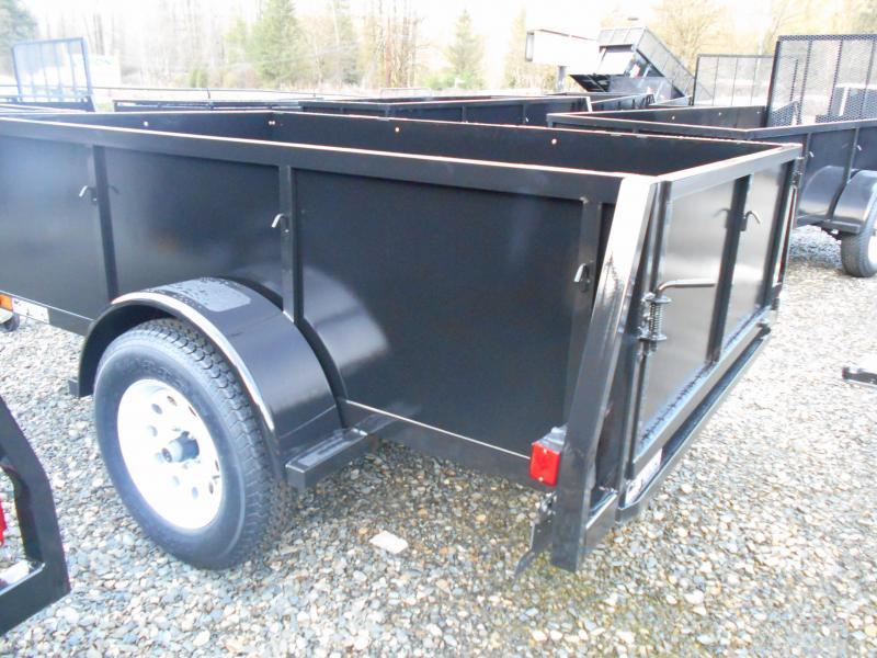 2015 Iron Eagle Voyager 5x8 Standard Swing Gate Utility Trailer